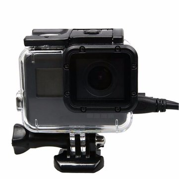 Protective Housing Case Cover Shell Side Opened For Gopro Hero 5 Black Camera