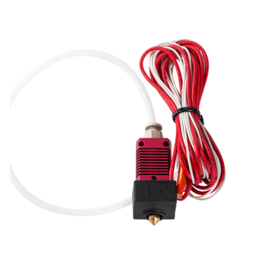 24V 40W Extruder Nozzle Hot End Kit with Temperature Thermistor & Heating Tube for  Creatily 3D Ender-3 3D Printer