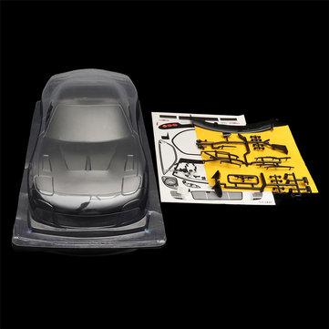 1/10 Unpainted Clear PVC RC Car Body Shell Mazda RX7 260mm Wheelbase for Tamiya YOKOMO HPI Chassis
