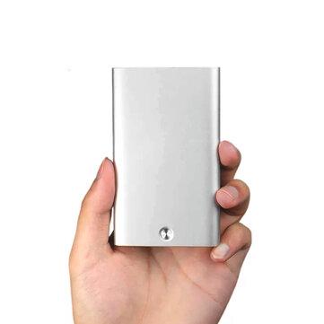 小米科技 MIIIW自動名刺入れスリムメタルネームカードクレジットカードケース収納ボックス