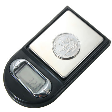 100gx0.01g display LCD de jóias mini-balança de bolso digital de forma mais leve
