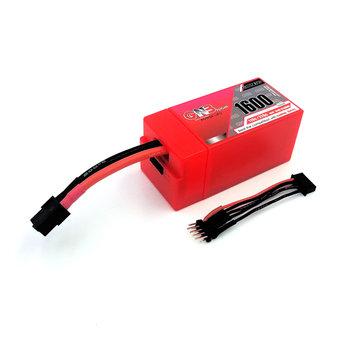 Gaoneng GNB 1600mAh 4S1P 14.8V 110 / 120C 23.68WH Lipo 배터리 (RC Drone FPV 레이싱 용 보호 케이스 포함)
