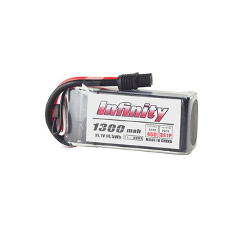 AHTECH Infinity 3S 11.1V 1300mAh 85C Graphene LiPo Battery SY60 XT60 T Connector for RC Drone