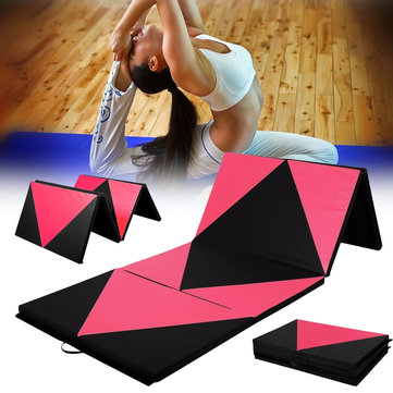70x47x1 97inch Foldable Gymnastic Mat Gym Exercise Yoga Pad Tumbling  Fitness Panel