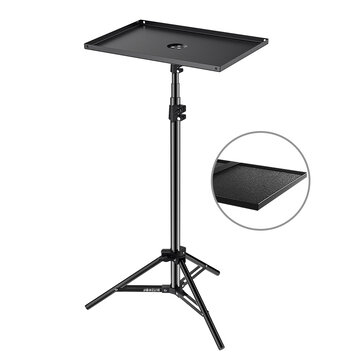 BlitzWolf® BW_VF1 Projector Stand Tripod with Large Tray Stable Portable Extensive Height Adjustable Simple Installation Portable to Carry for Indoor Outdoor Projection Movie