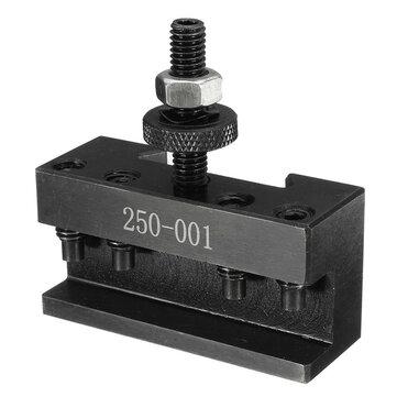 250-001 Quick Change Tool Post Turning Facing Holder Lathes Kit