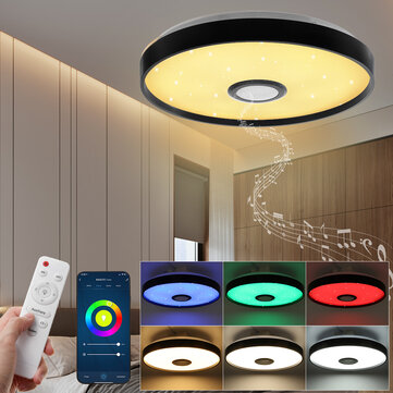 Dimmable 72W RGB LED Ceiling Light Lamp bluetooth WIFI Alexa / Google Home  Remote