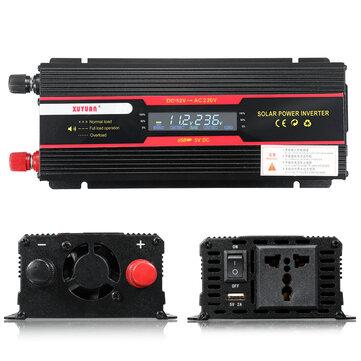Màn hình LCD biến tần công suất cực đại 6000W Hiển thị DC 12 / 24V sang AC 110 V / 220 V