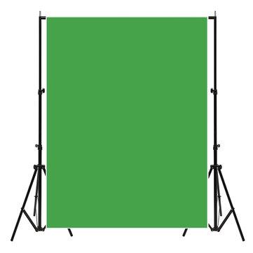 7X5FT Chromakey Green Fotografía Fotografía Fondo Telón de fondo Lienzo Accesorios de estudio