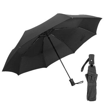 KCASA KC-UM024 Travel Windproof Auto Open Close Umbrella 8 Rib Compact Waterproof Umbrellas