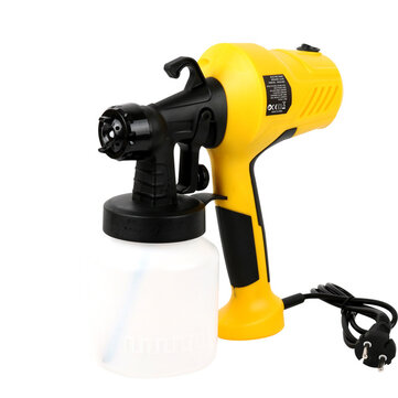 Buy [EU Plug] Electric Paint Sprayer Gu Removable High-pressure Airless Painting Compressor Machine Adjustable Flow Control For Cars Furniture Woodworking with 4 on Gipsybee.com