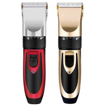 Elettrico ricaricabile YFM® elettrico Capelli Clipper Trimmer Lama di ceramica da barba da barba 110-240V Capellicut