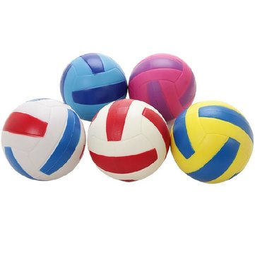 SUPER-K PU Foam Volleyball Children Early Learning Toy Elastic Soft Volleyball
