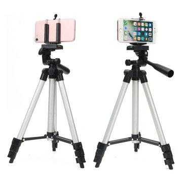 Bakeey Profesional Kamera Tripod Disesuaikan Stand Holder Hidup Selfie Tongkat untuk iPhone 8 Plus X S8 S9