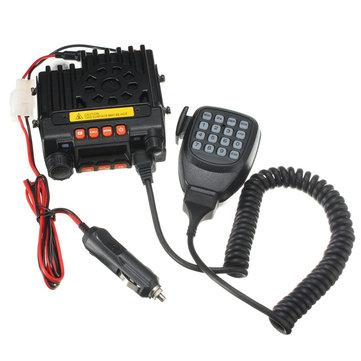 QYT uv portátil dual band vhf136-174 / uhf400-480mhz veículo transceptor móvel rádio bidirecional