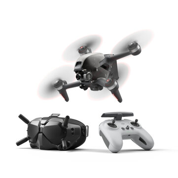 DJI FPV Combo 10KM 1080P FPV 4K 60fps 150 FOV Camera 20mins Flight Time 140 km or h Speed FPV Drone RC Quadcopter FPV Goggles V2 5.8GHz Transmitter Mode2