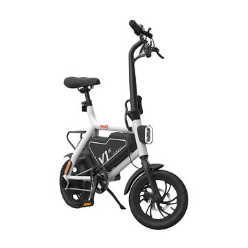 Xiaomi HIMO V1S 250W 7.8Ah Foldable Electric Moped Bicycle 25km/h Max 100kg Max Load 60km Mileage Electric Bike US Plug
