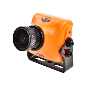 RunCam Swift 2 1/3 CCD 600TVL NTSC Micro Camera FOV 130/150/165 Degree 2.5mm/2.3mm/2.1mm IR Blocked w/ OSD MIC