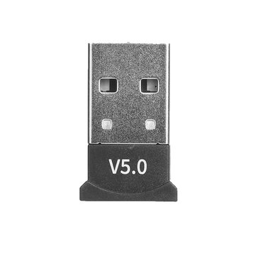 bluetooth 5.0 USB Adapter for Window 7/8/10 for Vista XP for Mac OS X PC Keyboard Mouse Gamepads Speakers