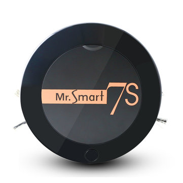 Mr.Smart7S Household Automatic Intelligent Robot Vacuum Cleaner 1200Pa Vacuum Cleaning 400ml Capacity Dust Box