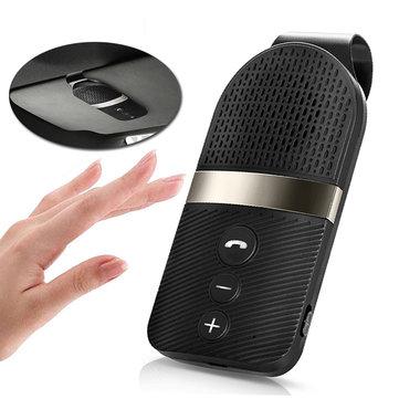 Sun Visor Car Kit Hands-free Speakerphone Multi-points A2DP bluetooth Receiver MP3 Player
