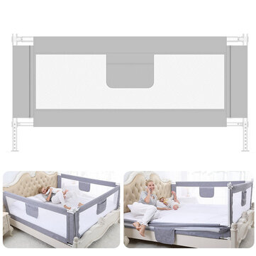 59x37Baby Infant Bed Guard Adjustable Rail Toddler Safety Barrier Protection Baby  Protective Gears