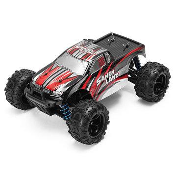Pxtoys 1/18 2.4 g 4wd monstruo de la tierra arenosa del coche del carro del rc hj209131