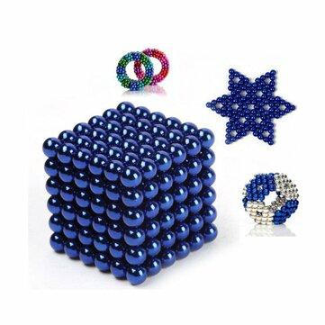 216PCS 3mm ဘာ့အရောင်အသွေးစုံသောစိတ်ဖိစီးမှုစိတ်သက်သာရာ Intelligent Toy လက်ဆောင်ပေးမယ်အတူသံလိုက် Ball ကိုသံလိုက် Box ကို