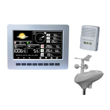 Misol-HP2K WIFI Weather Station With Solar Powered Sensor Wireless Data Upload Data Storage