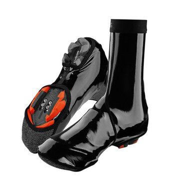 ROCKBROS Cubrezapatillas de ciclismo Impermeable Protecciones térmicas de ciclismo de carretera MTB para calzamontes de calzado