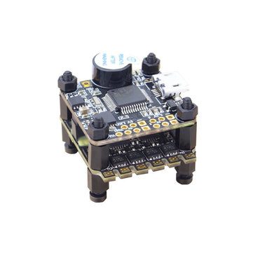 Emax F3 Magnum Mini Tower System 20x20mm 3-4S BLheli_S 12A 4 In 1 ESC + F3 Flight Controller OSD