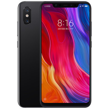 ChinaBestPrices - Xiaomi Mi8 Mi 8 Global Version 6.21 inch 6GB RAM 64GB ROM Snapdragon 845 Octa core 4G Smartphone