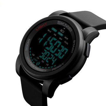 SKMEI 1469 Calorie Pedometer Countdown Waterproof Luminous Sports Digital Watch Men Watch