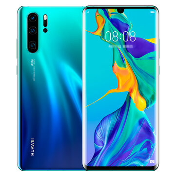 HUAWEI P30 Pro 6.47 inch 40MP Quad Rear Camera Wireless Charge 8GB RAM 128GB ROM Kirin 980 Octa core 4G Smartphone