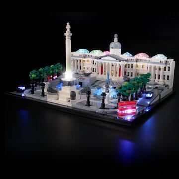 How can I buy YEABRICKS DIY LED Light Lighting Kit ONLY For LEGO 21045 Trafalgar Square Block Bricks Toy with Bitcoin