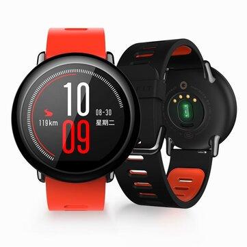 AMAZFIT Xiaomi IP67 Водонепроницаемые Bluetooth GPS  Часы из циркониевой керамики Монитор скорости сердца (английская версия)