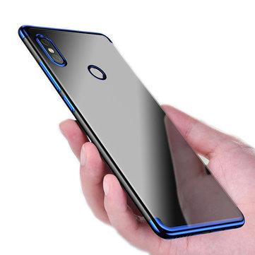 miglior servizio 9ec82 9e40a Bakeey Luxury Ultra-Thin Plating Soft TPU Protective Back Cover Case For  Xiaomi Redmi S2/ Redmi Y2