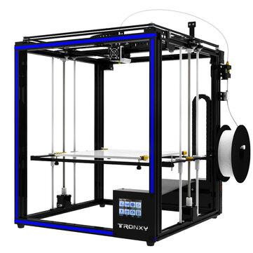 TRONXY®X5ST-400 DIYアルミ製3Dプリンタキット400 * 400 * 400mm大サイズ、タッチスクリーン/電源再開/フィラメントランアウト検出/デュアルZ軸ロッド