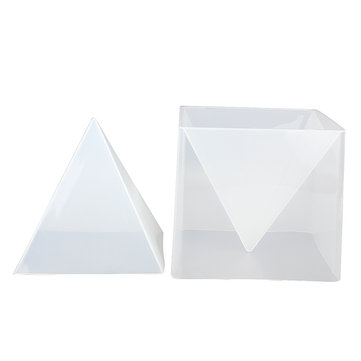 Pyramid Silicone Mould DIY Resin Decorative Mold Craft Jewelry Making Mold CXL
