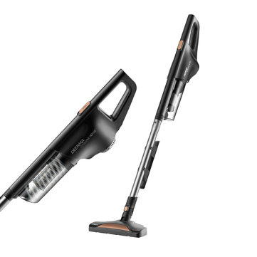 Deerma DX600 Upright Vacuum Cleaner Light Super Suction Handheld Small Household Cleaner