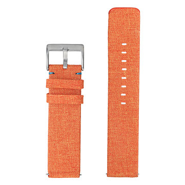 Replacement Woven Fabric Wrist Strap Watch Band with Classic Stainless Buckle For Fitbit Versa