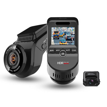 JUNSUN S590 4K WiFi GPS Night Vision Dual Lens Car DVR Loop Recording 170 Degree Wide AngleCar DVRsfromAutomobiles & Motorcycleson banggood.com