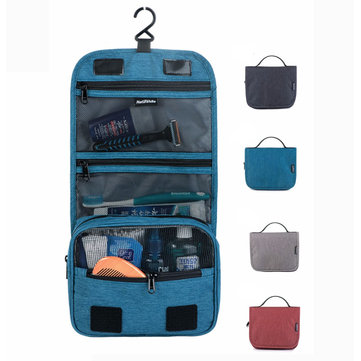 Naturehike 17X001-S Travel Waterproof Toiletry Wash Bag Hanging Make Up Cosmetic Pouch Storage Pack