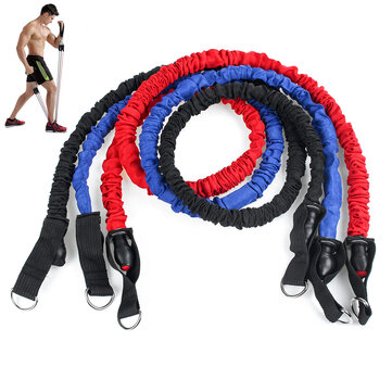 7/9/12/16/20 Pcs Fitness Resistance Bands Set Home Stretch Strength Training Yoga Pilates Exercise Tools