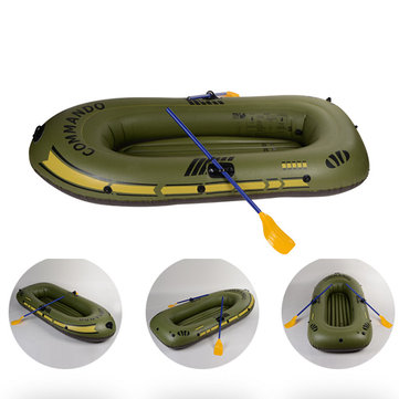 150*90cm-230*140cm Portable Inflatable Boat Thickening PVC Rowing Boat Fishing Ship Diver Surfing Drifting