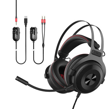Ajazz TheOne 7.1 Channel Surrounded 3.5mm USB Gaming Heaphone Headset...