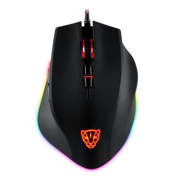 Motospeed V80 USB Wired 5000DPI RGB Backlit Optical Gaming Mouse...