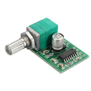 PAM8403 2 Channel USB Power Audio Amplifier Module Board 3Wx2 Volume Control