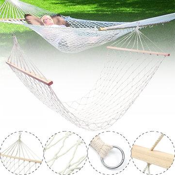 Cotton Rope Hammocks Macrame Swing Bed Hammock Chairs Camping Travel Garden Max Load 120kg