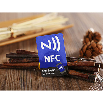 (5 pcs/lot) NFC Smart Stickers Tag Ntag216 13.56mhz RFID Label Card for All NFC android Phone for sale in cryptocurrencies for the best price on Gipsybee.com.